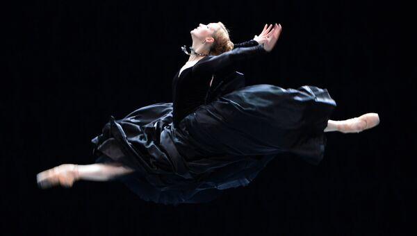 Солистка балета Наталья Сомова в роли Анны Карениной