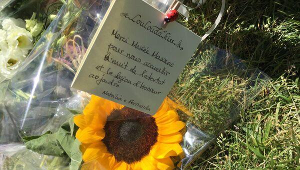 Цветы на набережной в Ницце. Архивное фото