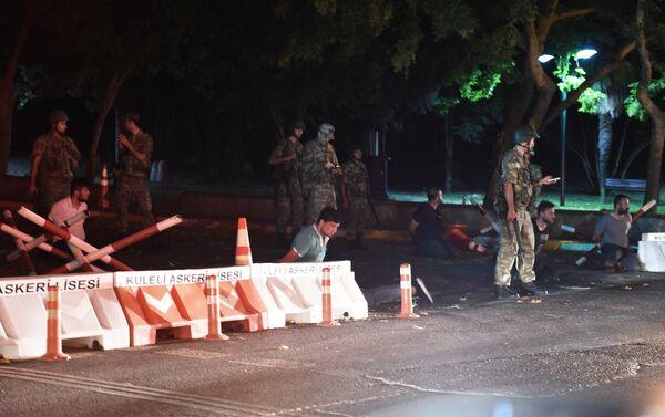 Ситуация в Турции 15 июля 2016 года