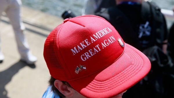 Акция сторонников кандидата в президенты США Дональда Трампа в Кливленде