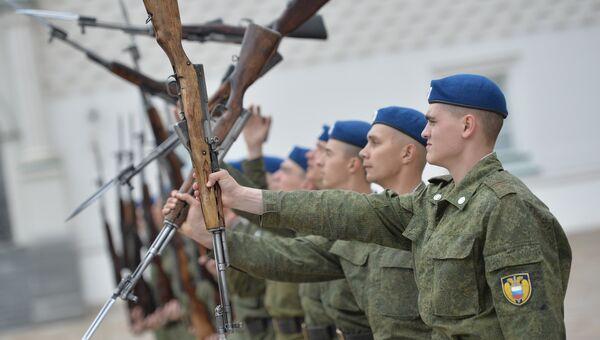 Президентский полк. Архивное фото