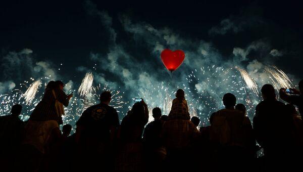 Второй Международный фестиваль фейерверков Ростех. Архивное фото