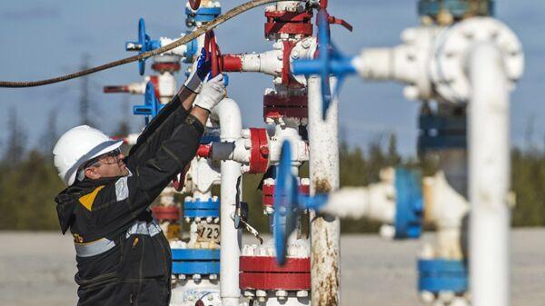 Добыча газа. Архивное фото