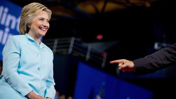 Кандидат в президенты США Хиллари Клинтон