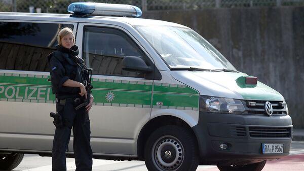 Сотрудник полиции в Баварии