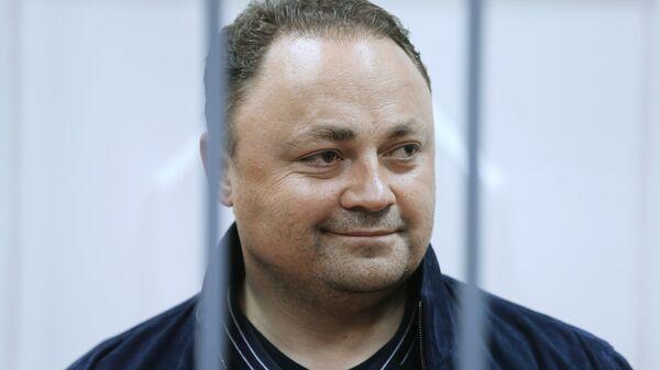 Игорь Пушкарев в Басманном суде Москвы