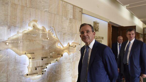 Депутат Национального собрания Франции Тьерри Мариани в Симферополе