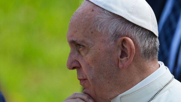 Папа римский посетил Биркенау