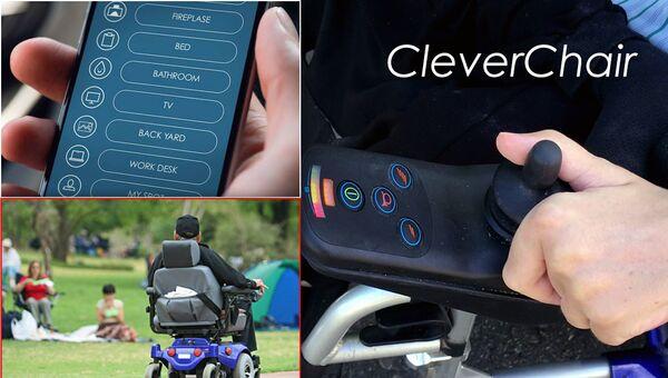 Система автономной навигации Clever Chair