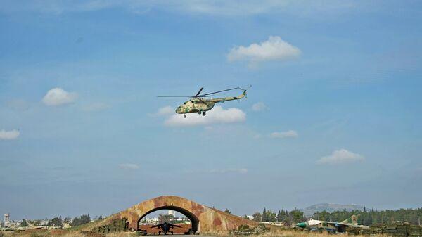 Вертолет сирийских ВВС
