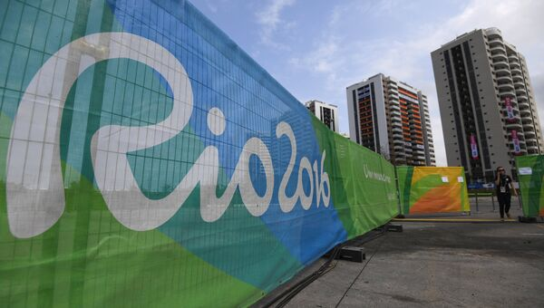 Олимпийская деревня в Рио-де-Жанейро. Архивное фото