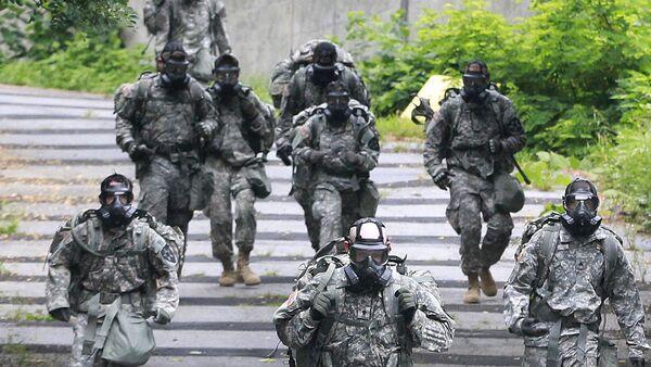 Военнослужащие батальона армии США. Архивное фото
