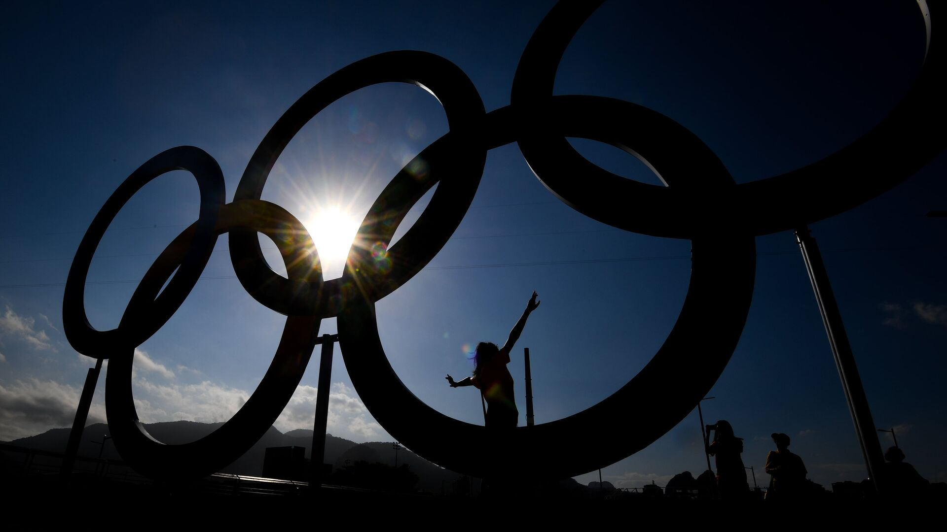 Олимпийские кольца - РИА Новости, 1920, 30.07.2021