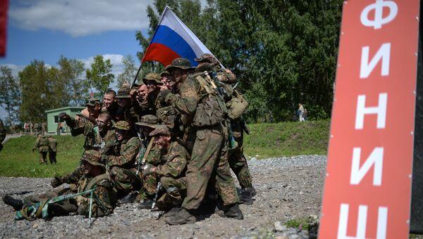 Военнослужащие вооруженных сил России на Международных армейских играх. Архивное фото