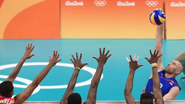 Олимпиада 2016. Волейбол. Мужчины. Матч Россия - Куба