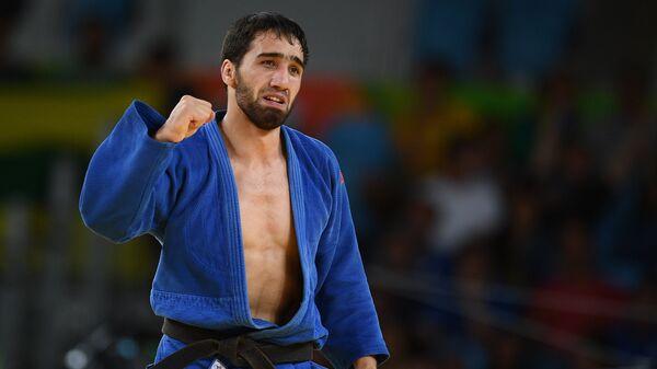 Российский дзюдоист Хасан Халмурзаев на XXXI летних Олимпийских играх