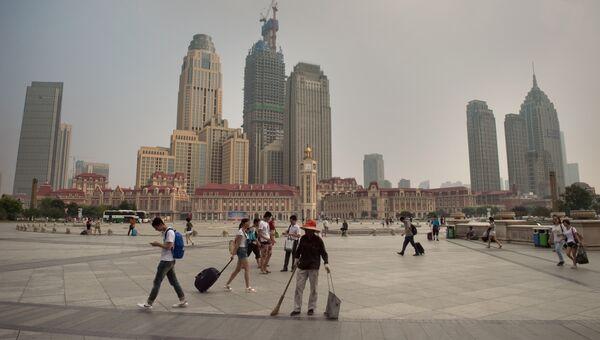 Город Тяньцзинь. Архивное фото