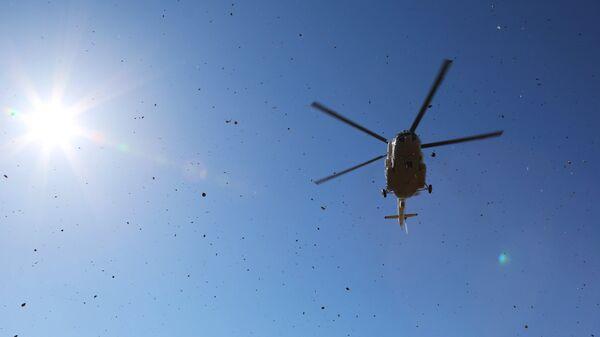 Вертолет Ми-8 МЧС РФ