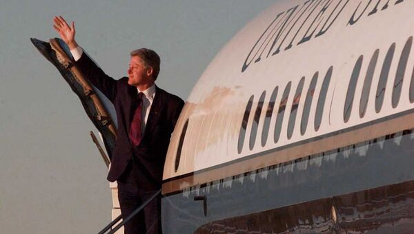 Президент США Билл Клинтон