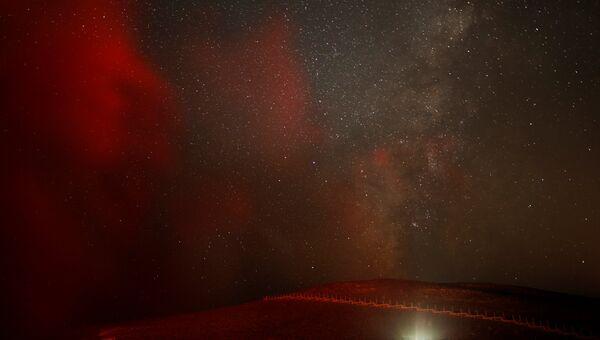 Ночное небо над Израилем