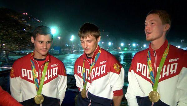 Непростой матч - российские рапиристы о победе над Францией на ОИ-2016