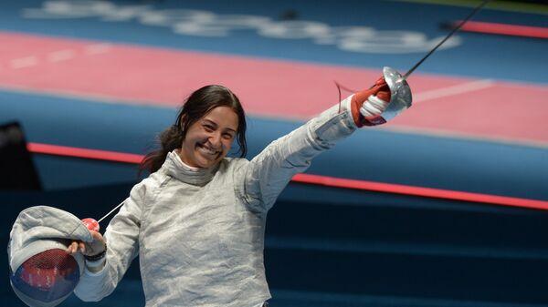 Яна Егорян (Россия) на XXXI летних Олимпийских играх.