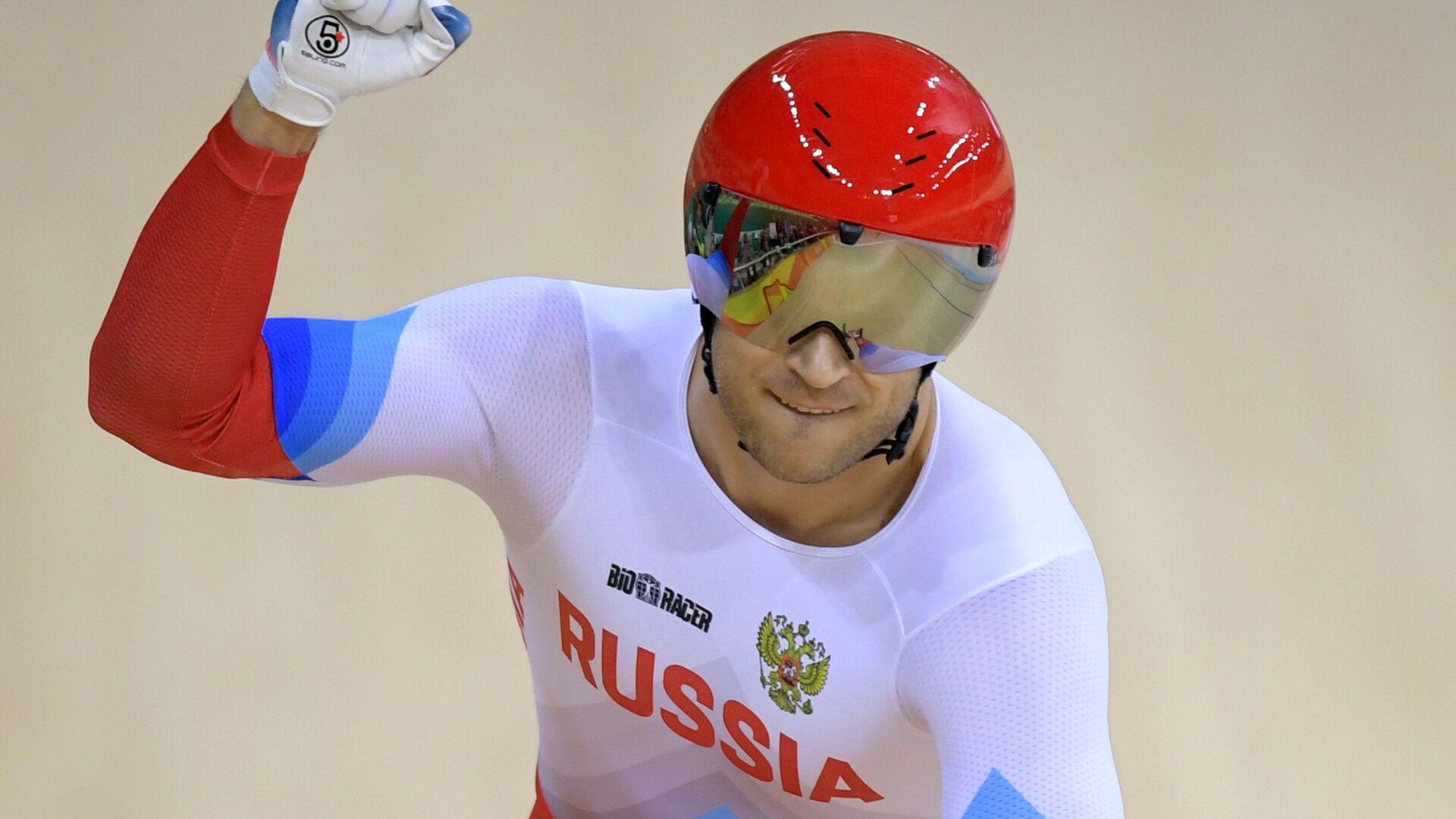 Денис Дмитриев в заезде за третье место индивидуального спринта на XXXI летних Олимпийских играх - РИА Новости, 1920, 23.07.2020