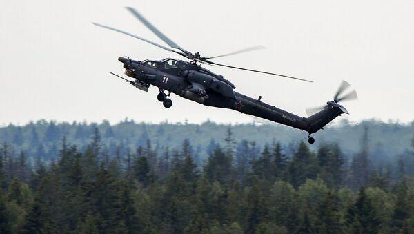Вертолет Ми-28 Ночной охотник. Архивное фото