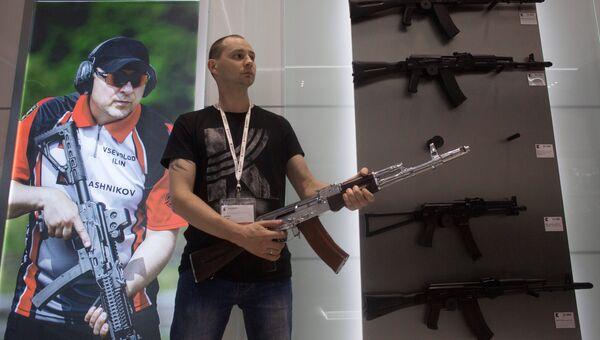 Магазин концерна Калашников в аэропорту Шереметьево