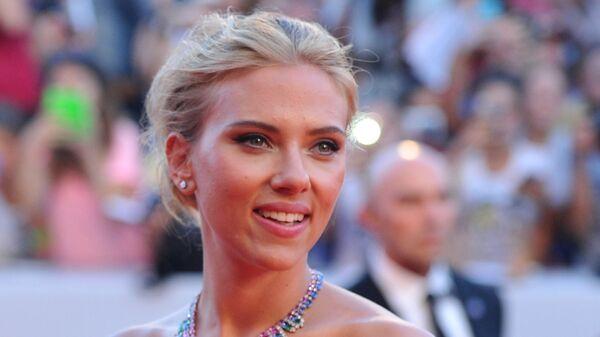 Американская актриса Скарлетт Йоханссон. 3 сентября 2013