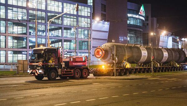 Финальная часть доставки оборудования из Санкт-Петербурга для Евро+