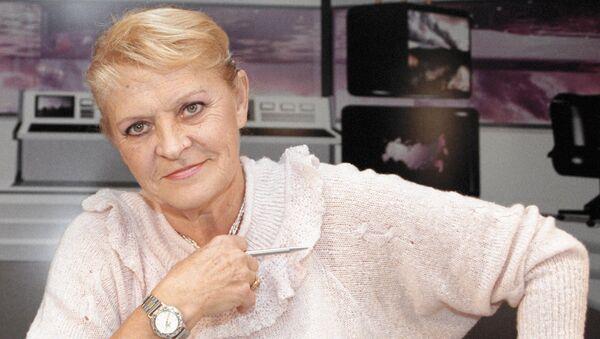 Советская спортсменка, комментатор РЕН ТВ Нина Еремина. Архивное фото