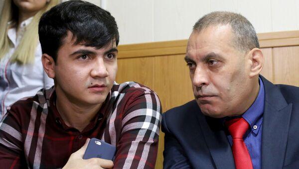 Абдувахоб Маджидов на предварительных слушаниях в Гагаринском районном суде