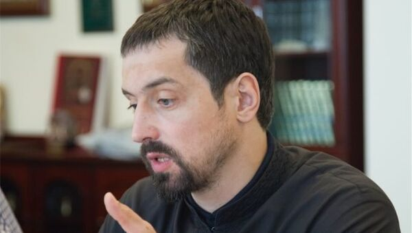 Диакон Герман Демидов, заведующий сектором основ православной культуры Синодального отдела религиозного образования и катехизации