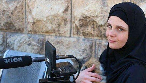 Американская журналистка Линдси Снелл в Сирии. Архивное фото