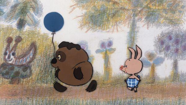Кадр из мультфильма Винни-Пух. Архивное фото