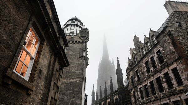Города мира. Эдинбург.Архивное фото