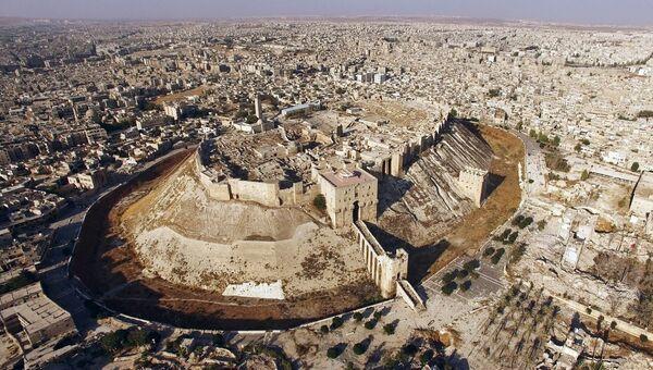 Вид Алеппо. Архивное фото
