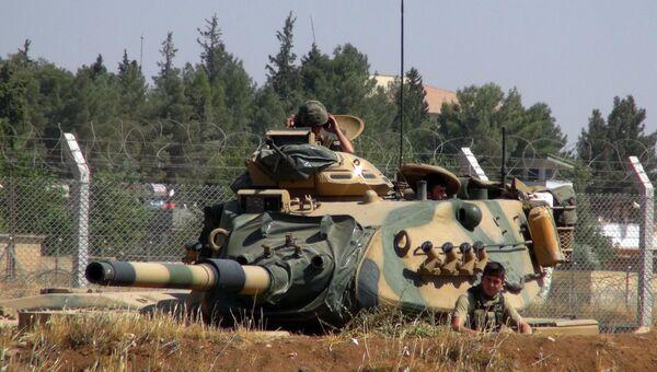 Турецкий танк. Архивное фото