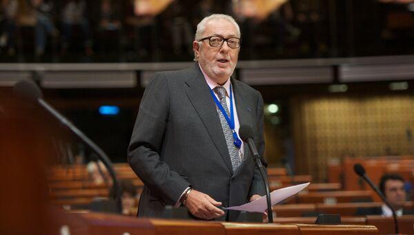 Глава ПАСЕ Педро Аграмунт. Архивное фото