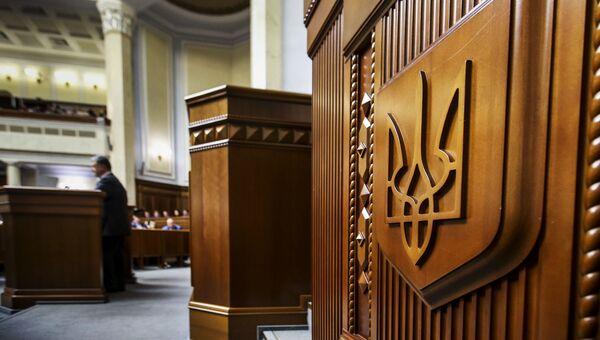 Рада Украины. Архивное фото