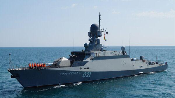Малый ракетный корабль (МРК) проекта 21631 Буян-М Град Свияжск