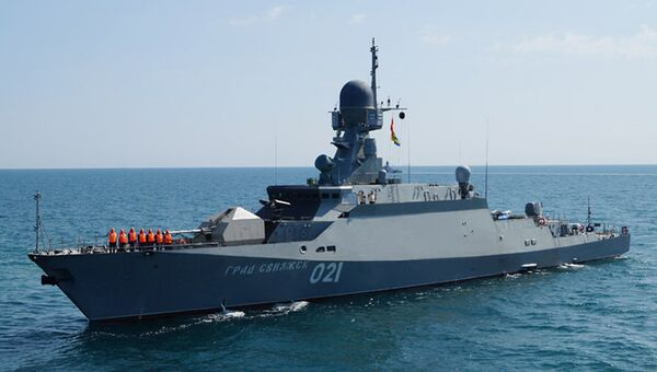 Малый ракетный корабль (МРК) проекта 21631 Буян-М. Архивное фото