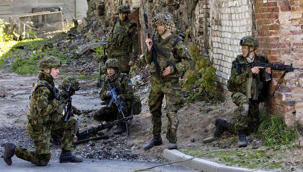 Силы обороны Эстонии. Архивное фото