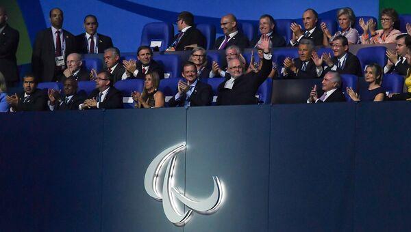 Президент Международного паралимпийского комитета Филипп Крейвен. Архивное фото
