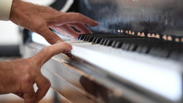 Исполнитель у рояля