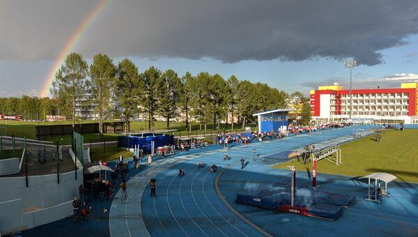 Всероссийские паралимпийские соревнования в учебно-тренировочном центре Новогорск