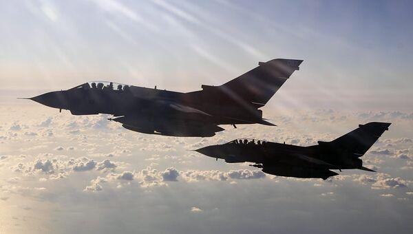 Истребители Королевских ВВС Великобритании. Архивное фото