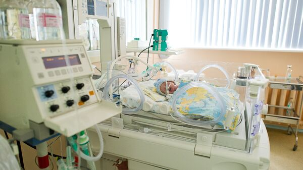 Отделение реанимации и интенсивной терапии для новорожденных в московском родильном доме