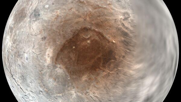 Регион Мордор на поверхности Харона, спутника Плутона
